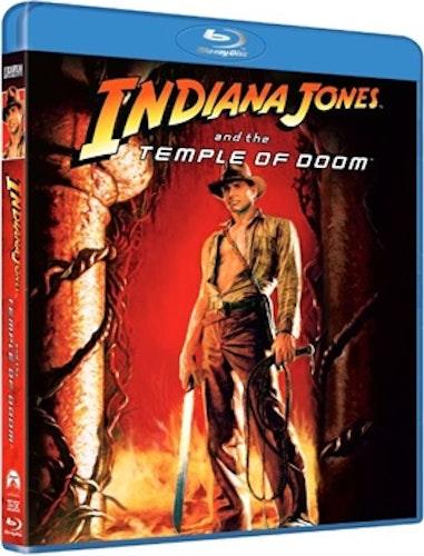 Indiana Jones: De Fördömdas Tempel bluray