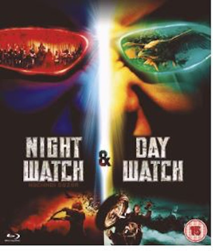 Night Watch + Day Watch box Bluray (import med Sv text)