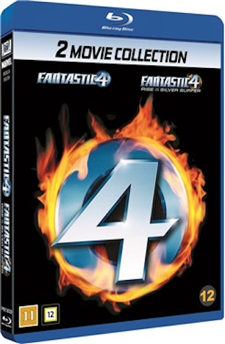 Fantastic 4 + Fantastic 4 - Rise Of The Silver Surfer bluray