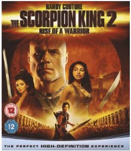 The Scorpion King 2: Rise of a Warrior bluray (import)