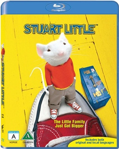 Stuart Little bluray UTGÅENDE