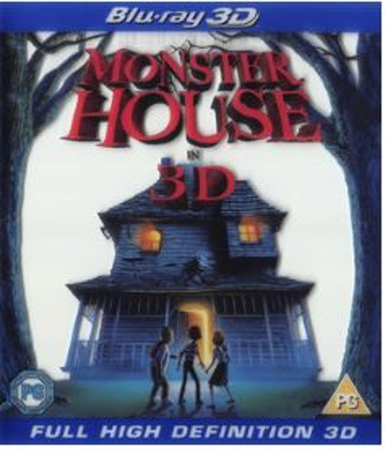 Monster House (3D) bluray import med svensk text och tal