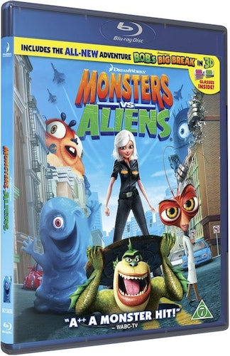 Monsters Vs. Aliens bluray