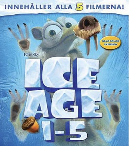 Ice Age 1-5 bluray