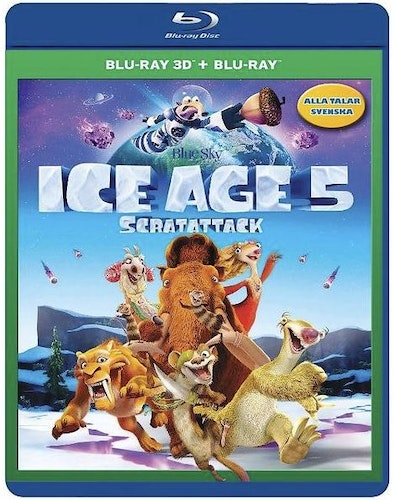 Ice Age 5: Scratattack (3D) bluray