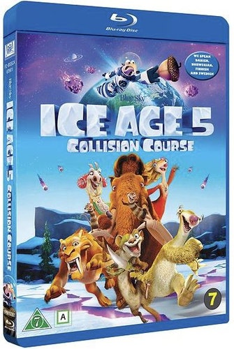 Ice Age 5: Scratattack bluray