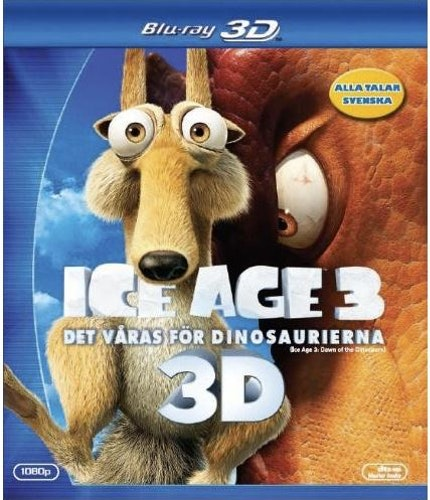 Ice Age 3: Det Våras För Dinosaurierna (3D) bluray