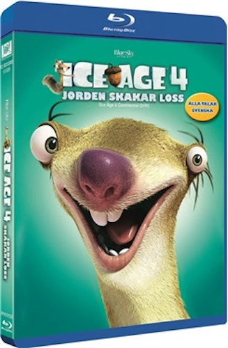 Ice Age 4: Jorden Skakar Loss bluray
