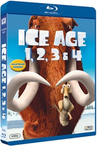 Ice Age 1-4 bluray