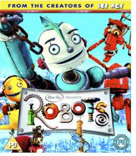 Robotar bluray (import)