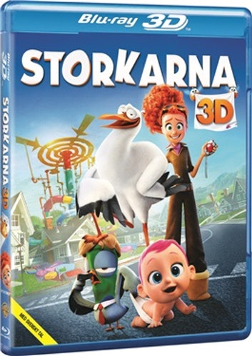 Storkarna 3D bluray