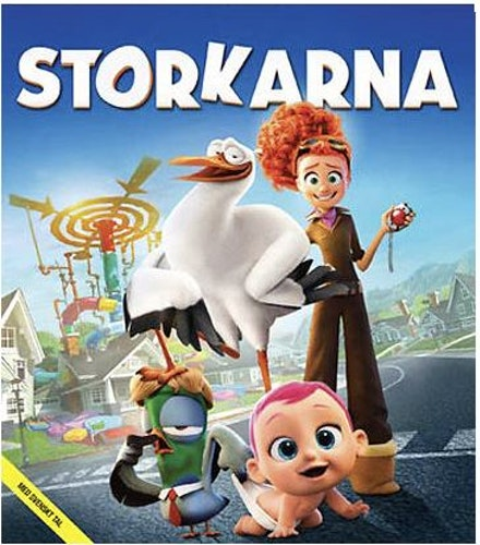 Storkarna bluray