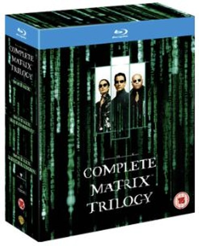 The Matrix Trilogy - Matrix 1-3 Bluray (import)