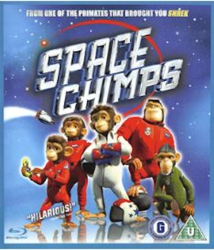 Space Chimps Blu-Ray (import)