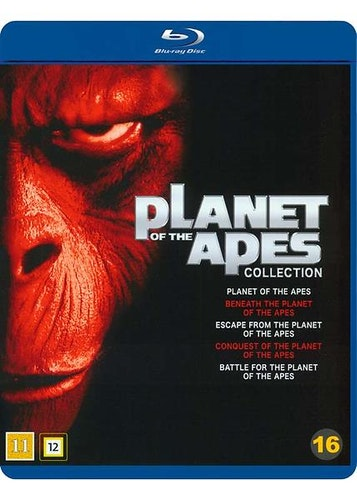Planet of the Apes - Collection (1968-1973) bluray