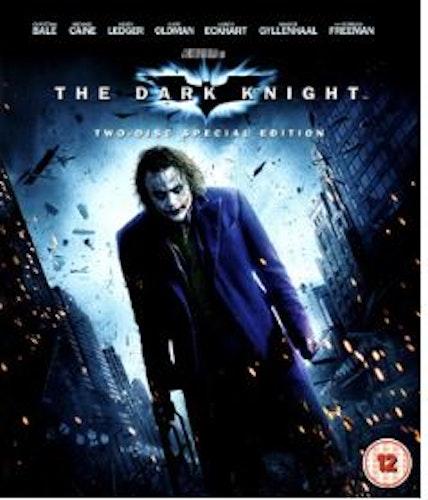 Batman - The Dark Knight Blu-Ray (import med Sv text)