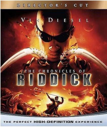 Chronicles Of Riddick bluray