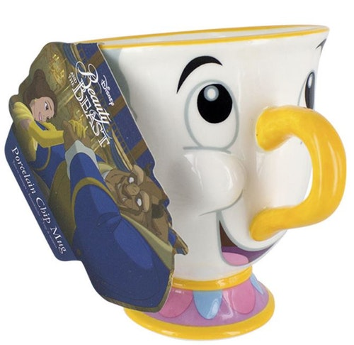 Disney Skönheten och odjuret Chip mugg kopp
