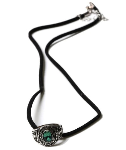 Harry Potter Slytherin ring hängsmycke