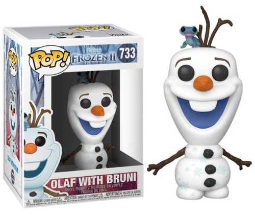 POP figur Disney Frost 2 Olof med Bruni