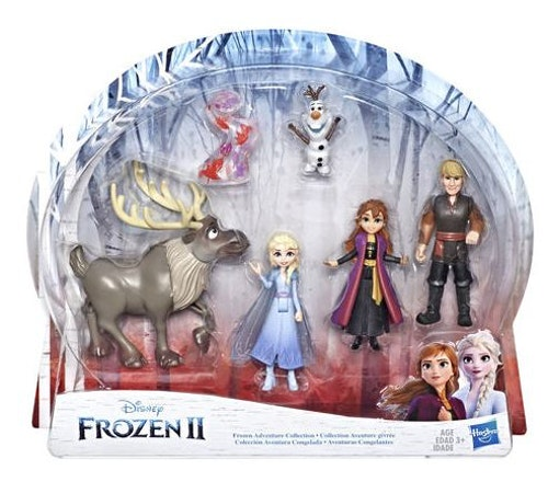 Disney Frost 2 Adventure Collection set figures