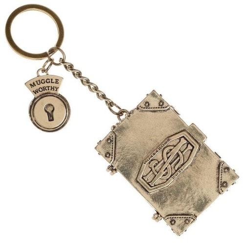 Fantastic Beast metallbok nyckelring