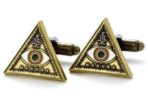 Fantastic Beasts Triangle Eye manschettknappar