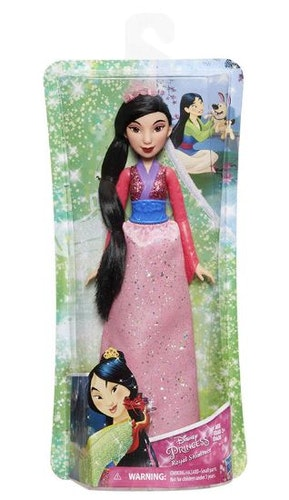 Disney Royal Shimmer Mulan docka