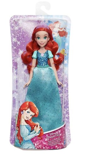 Disney Royal Shimmer Lilla sjöjungfrun Ariel docka