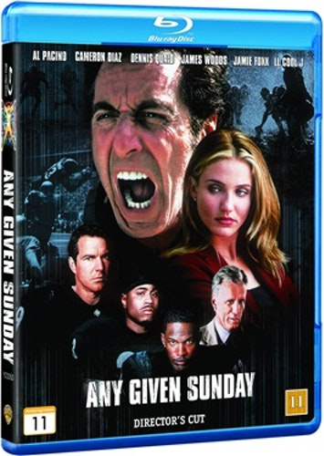 Any Given Sunday - Director's Cut bluray