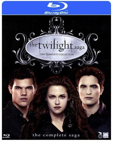 Twilight Complete Saga Box bluray