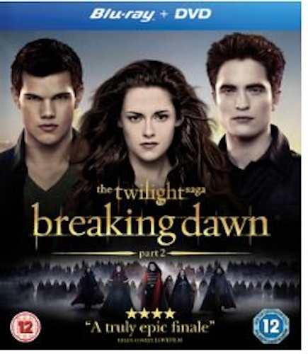 The Twilight Saga: Breaking Dawn Part 2 bluray (import)