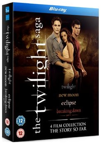 The Twilight Saga - Quadrilogy (4 Films) Blu-Ray (import)