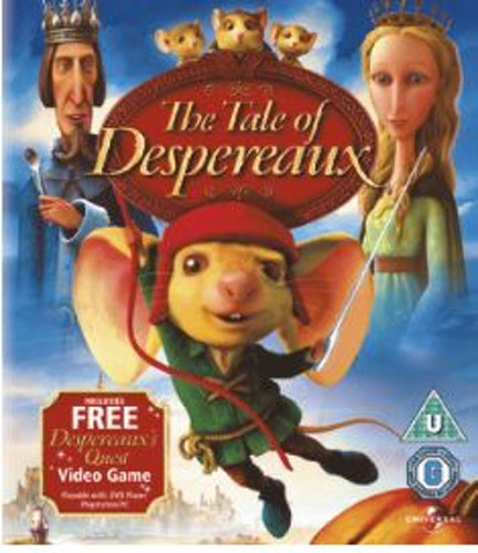 Sagan om Despereaux Blu-Ray (import)
