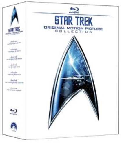 Star Trek 1 to 6 Movie Collection (6 Films) Blu-Ray (import med Sv text)