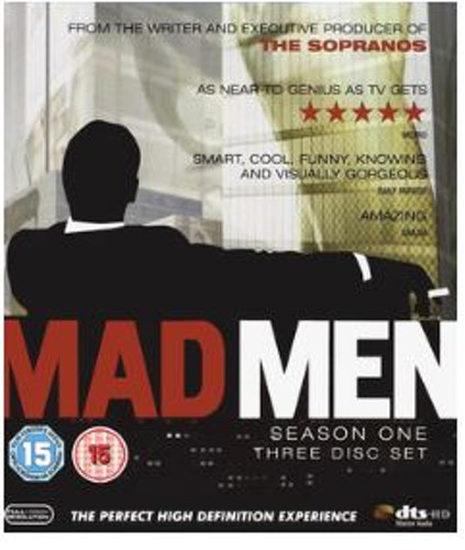 Mad men säsong 1 bluray (import)