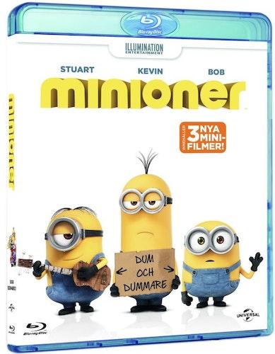 Minions/Minioner bluray