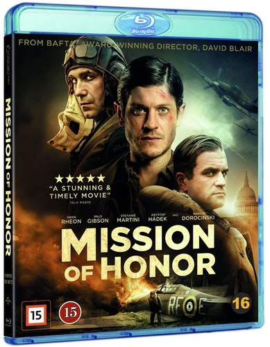 Mission of Honour bluray