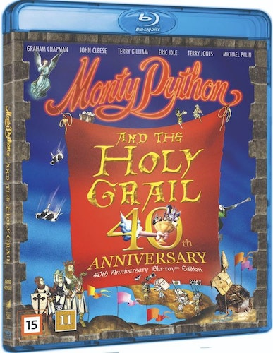 Monty Python and the Holy Grail - 40th Anniversary Edition bluray