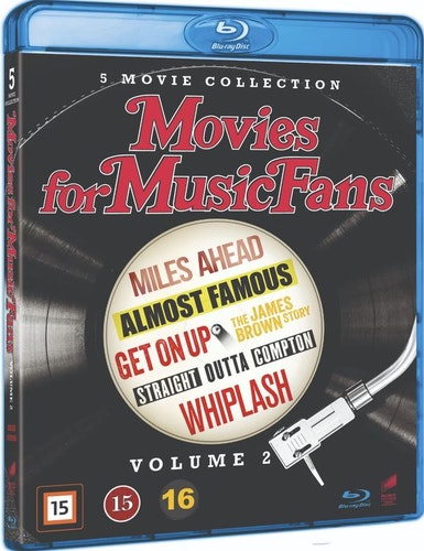 Movies for Music Fans - 5-Movie Collection - Vol. 2 bluray UTGÅENDE