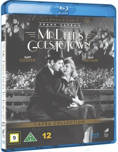 Mr. Deeds Goes to Town bluray