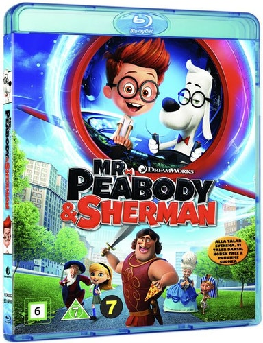 Herra Peabody & Sherman bluray