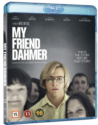 My Friend Dahmer bluray