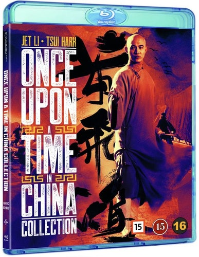 Once Upon a Time in China - 4-Movie Collection bluray