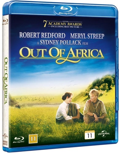 Out of Africa bluray