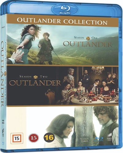 Outlander - Säsong 1-3 bluray