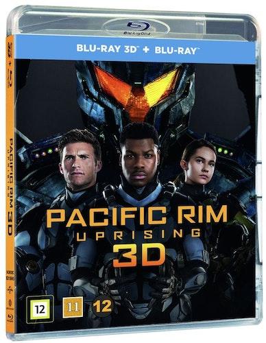 Pacific Rim: Uprising (3D) bluray UTGÅENDE