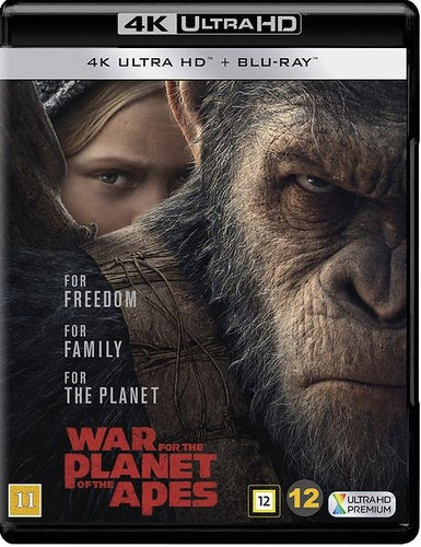War for the Planet of the Apes 4K  (UHD+BD)