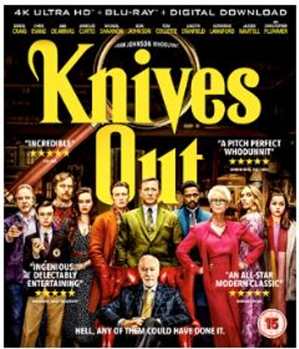 Knives Out 4K Ultra HD + Blu-Ray (import)