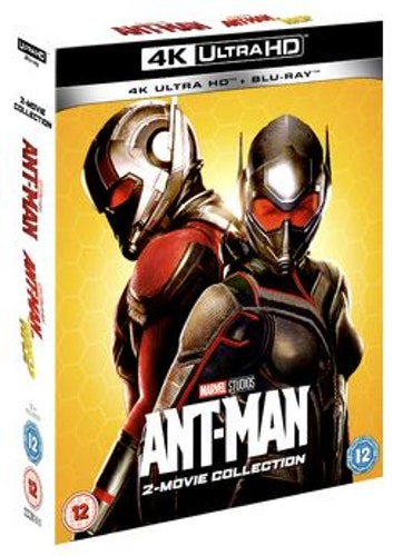 Ant-Man / Ant-Man & The Wasp 4K Ultra HD + Blu-Ray (import)